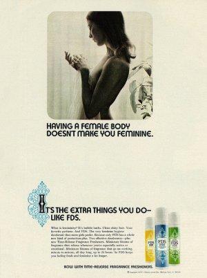 Feminine hygiene