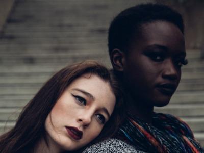 Mixed race friends