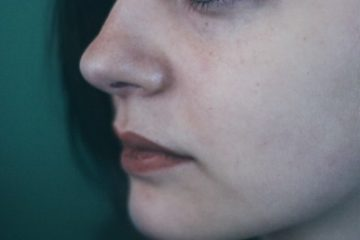 Close-up of a woman's face