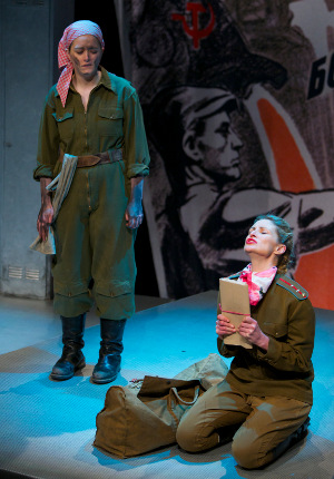 Alison O'Donnell as Ina and Lesley Harcourt as Lily in White Rose.  Photot by Graham Riddell. 1.jpg