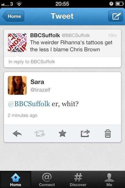 A screenshot of a tweet by BBC Suffolk which reads,