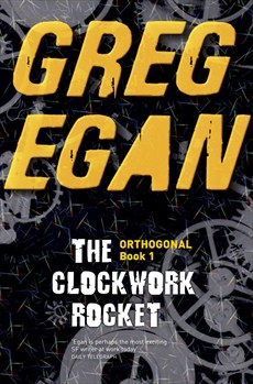 Cover of The Clockwork Rocket by Greg Egan.jpg