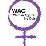 Women Against the Cuts logo