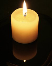 Candle for Transgender Day of Remembrance