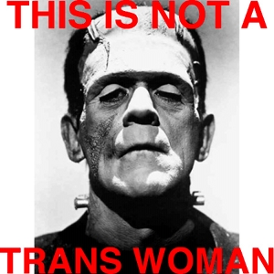 Still from Frankenstein, with the caption: